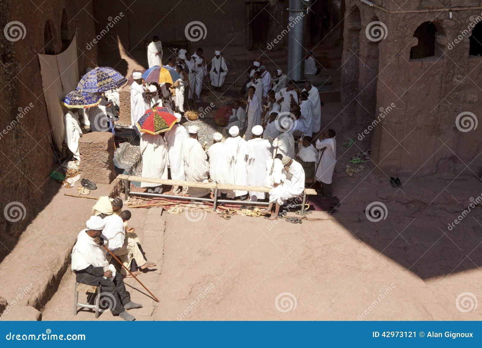 Priests, Lalibela