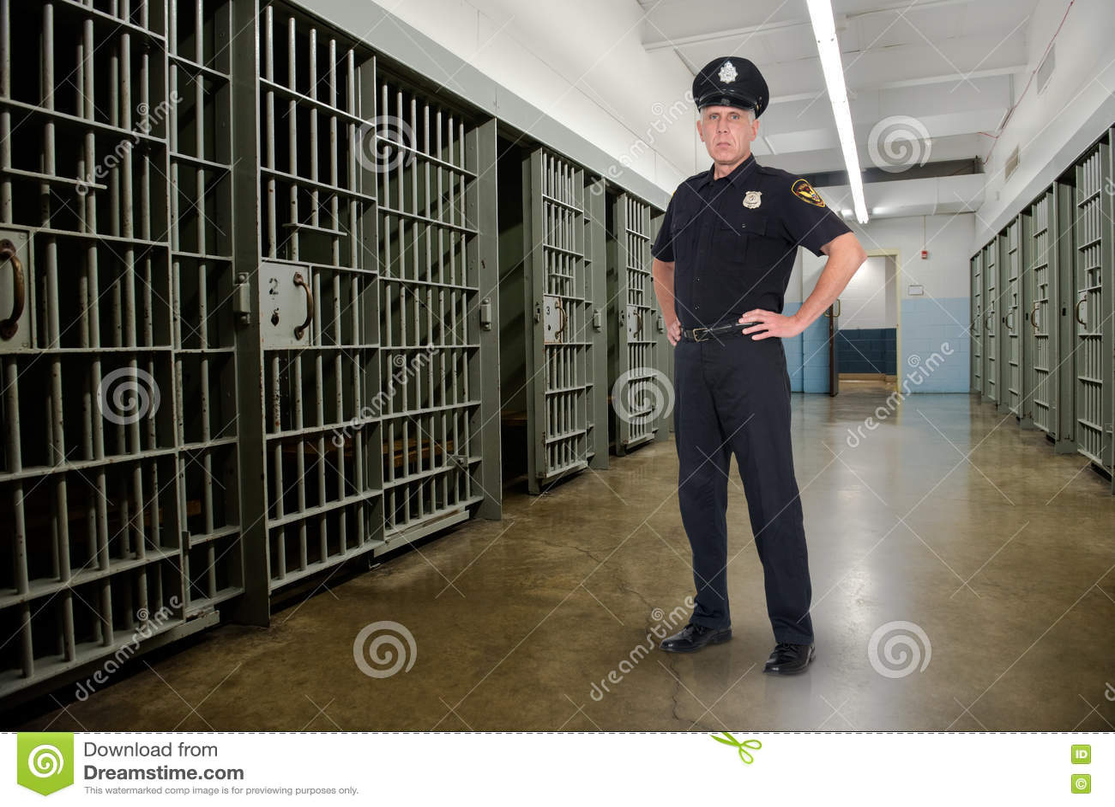 Prigione, prigione, applicazione di legge, polizia