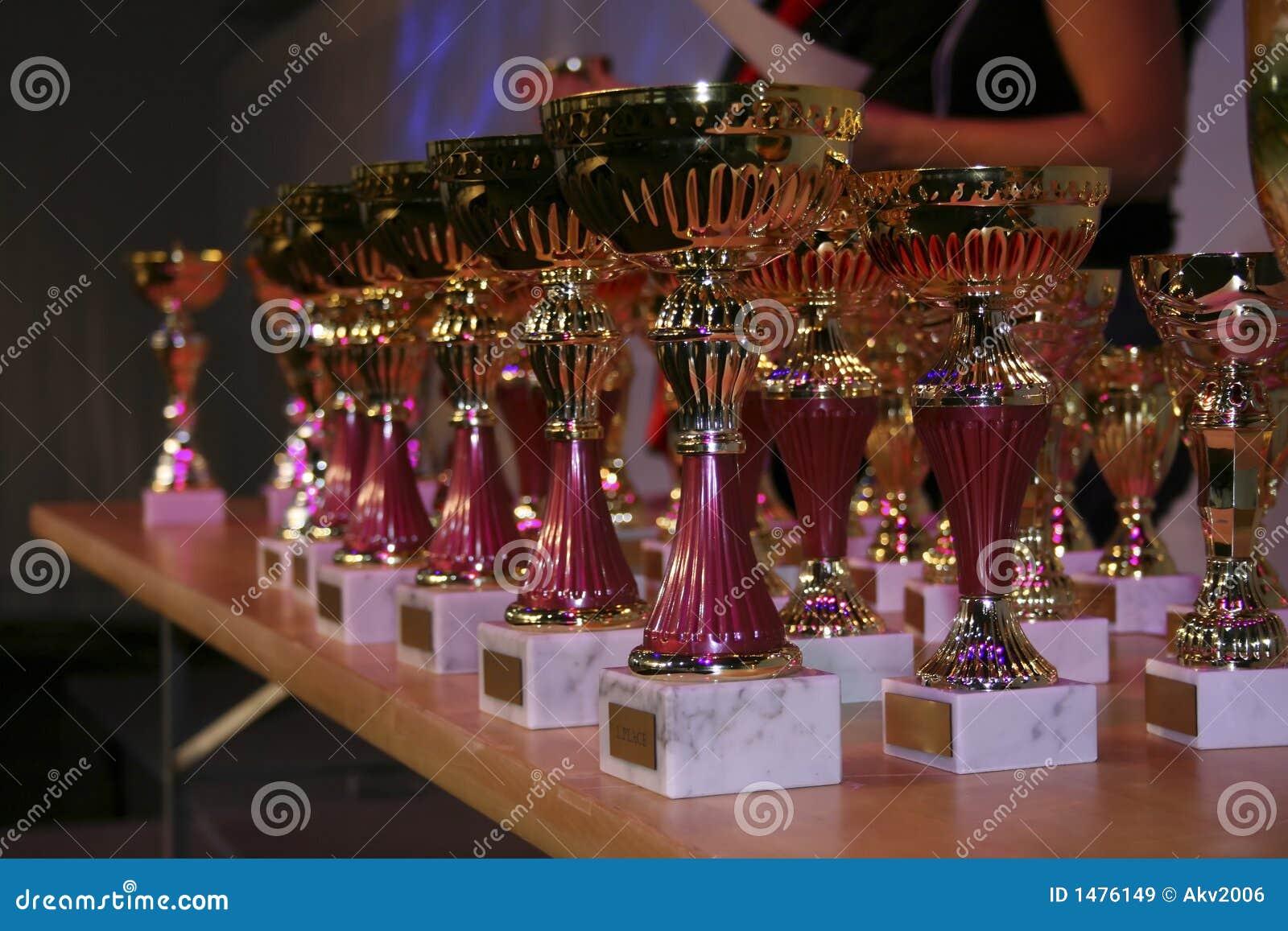Prijzen op beloningsceremonie