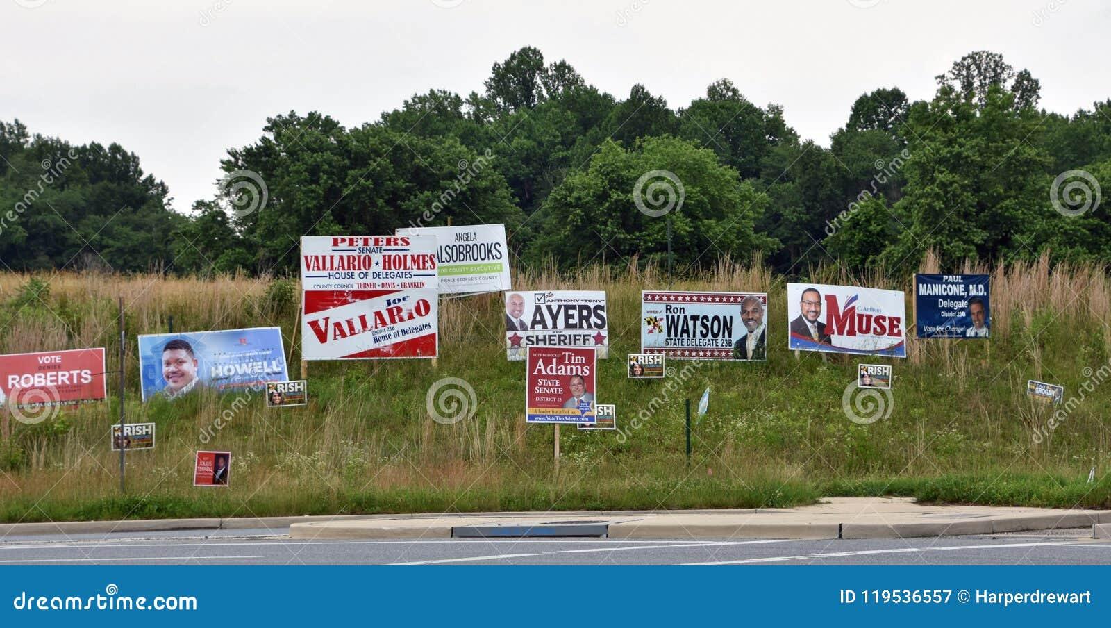 Primärvalaktionen undertecknar North Carolina