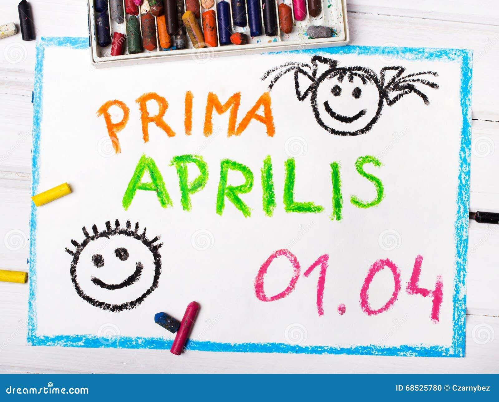 Prima Aprilis come nome del giorno di un pesce d aprile in Polonia