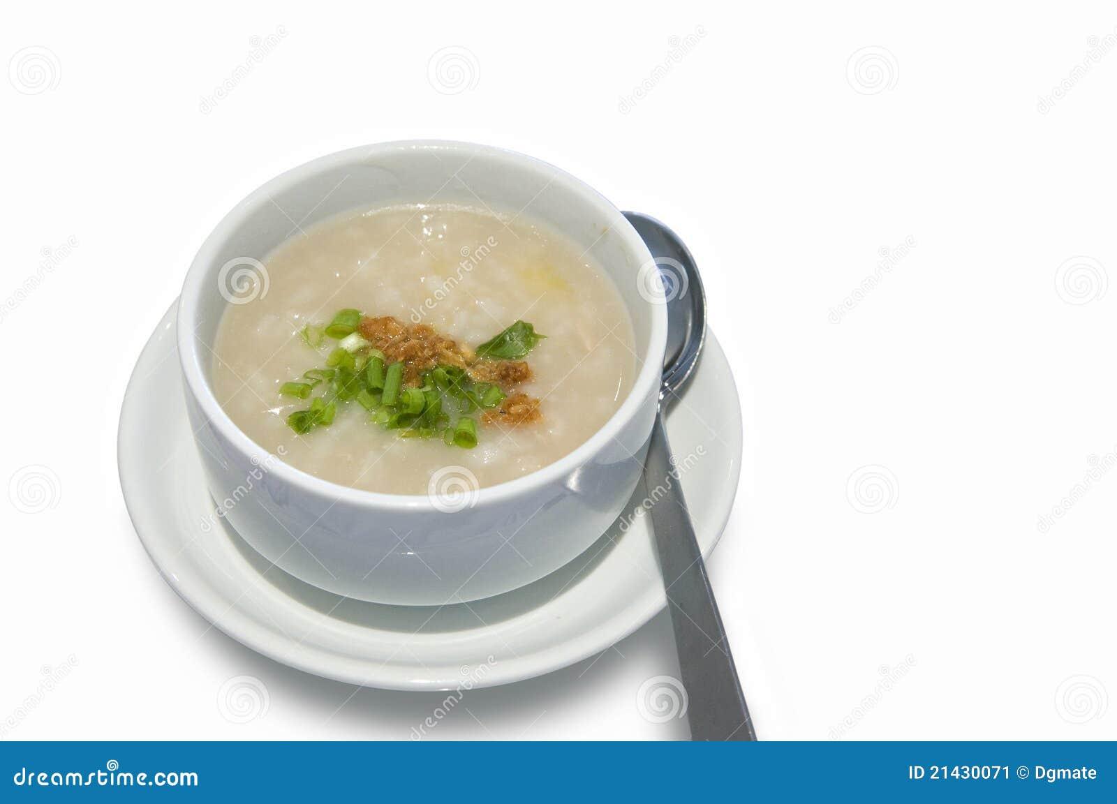 Prima colazione del congee del riso del cinese for Colazione cinese