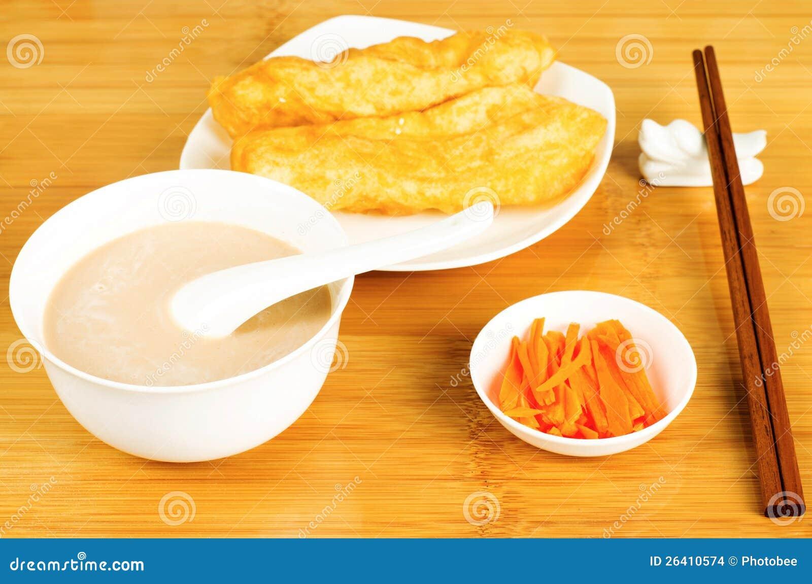 Prima colazione di stile cinese fotografia stock for Colazione cinese