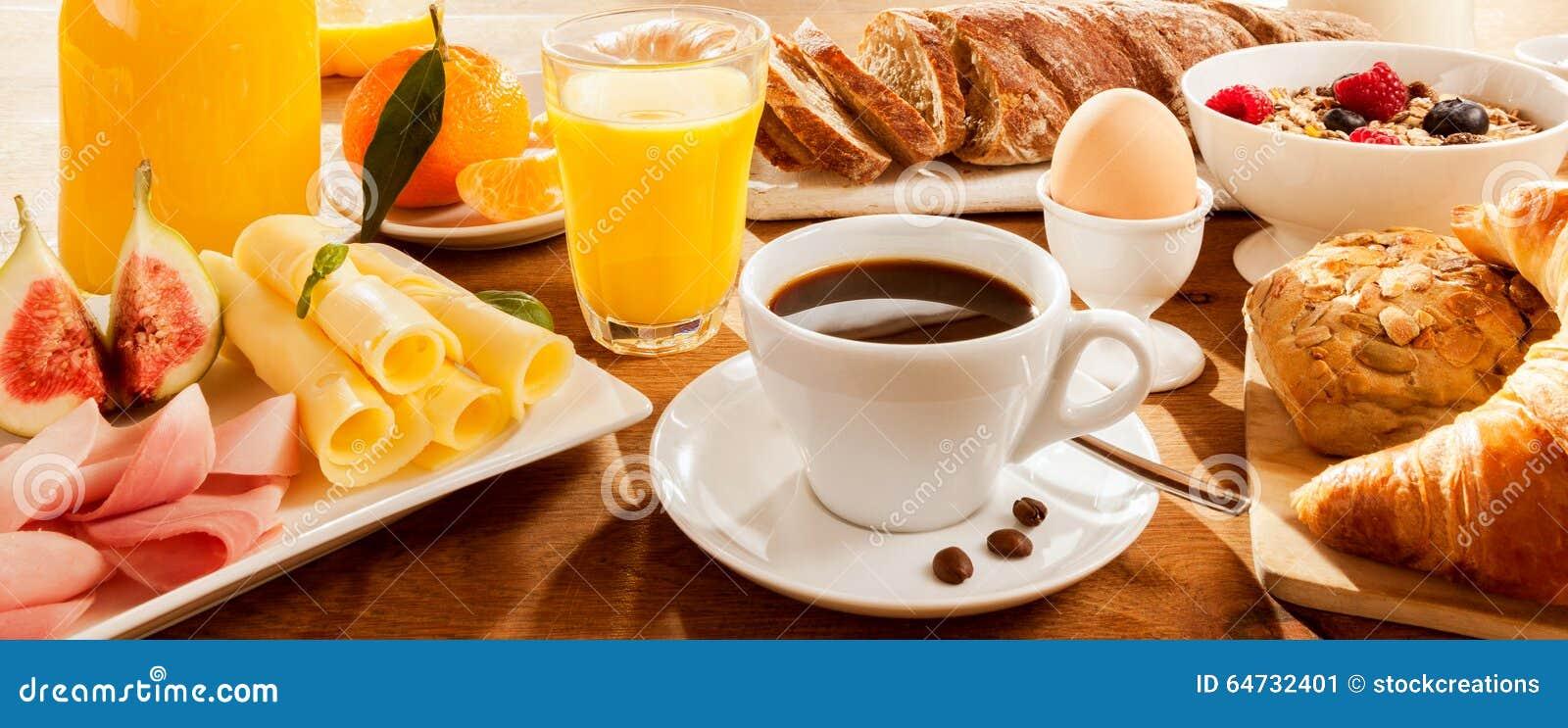 Prima colazione piena sulla Tabella