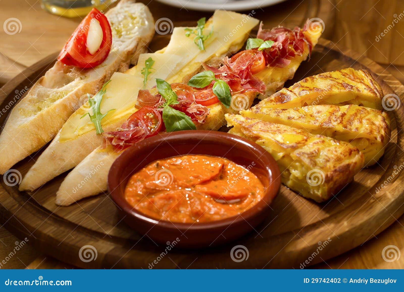 Prima colazione tradizionale spagnola fotografia stock for Cucina spagnola