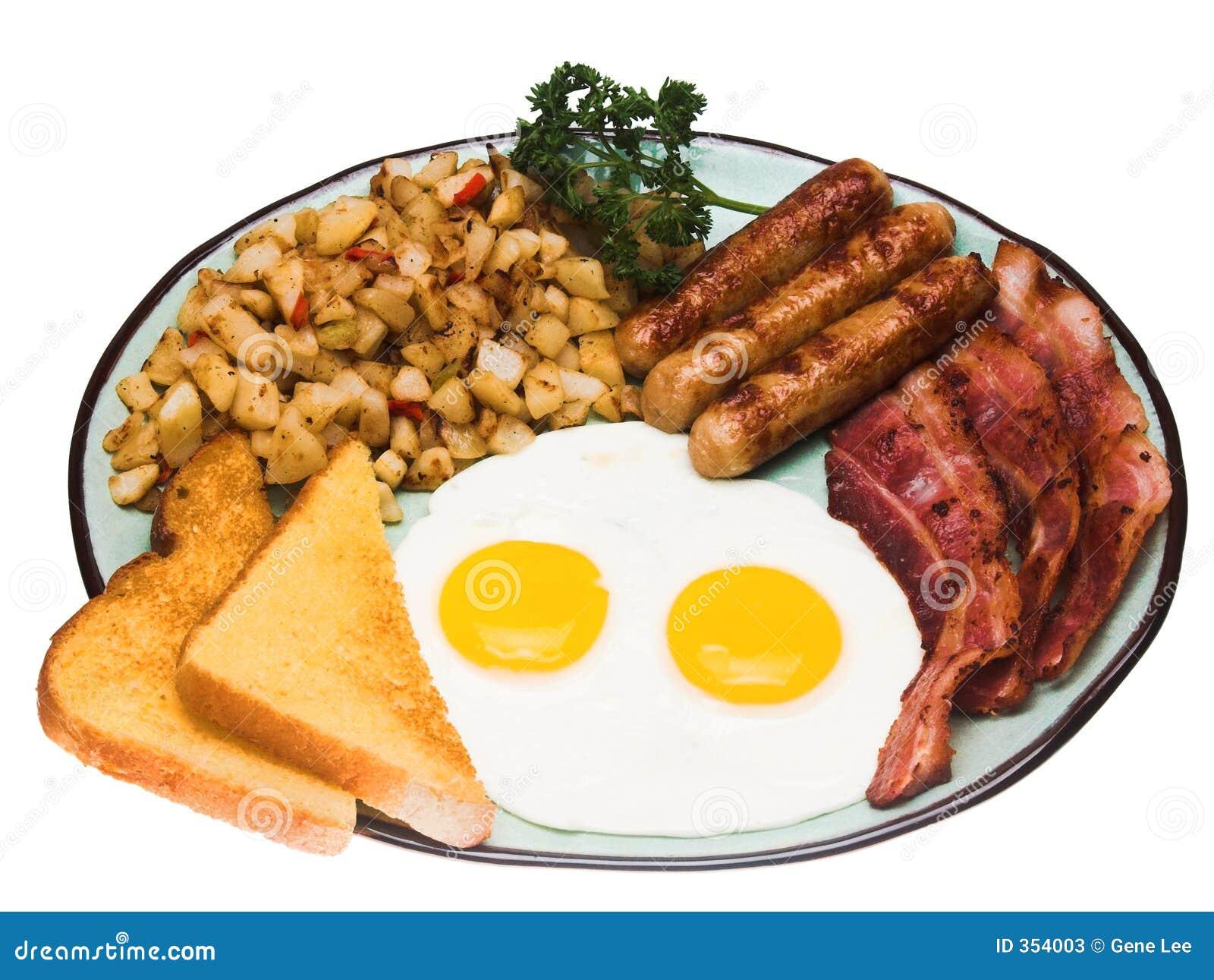 Prima colazione tradizionale