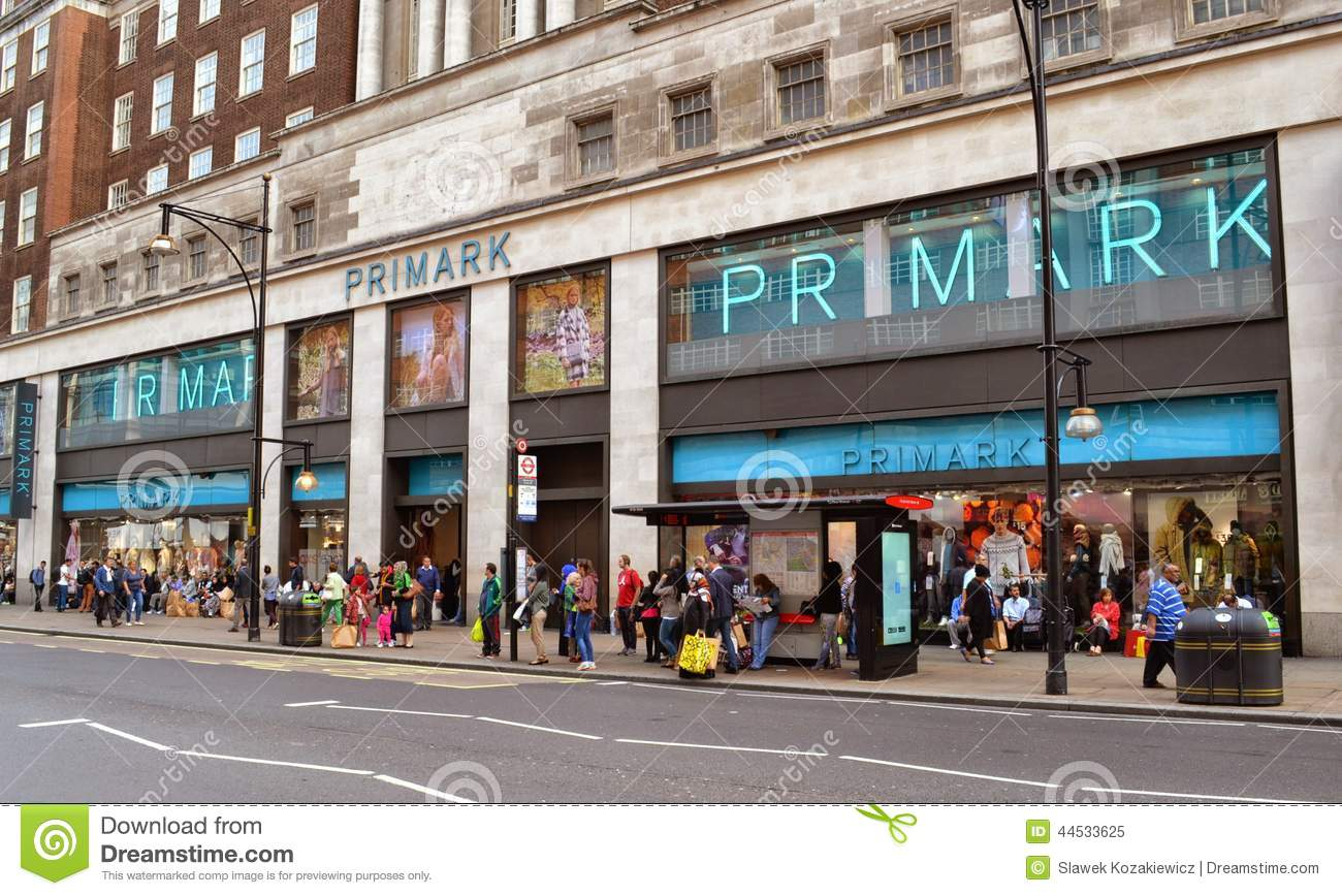 Primark Store Oxford Street London Editorial Image - Image: 44533625