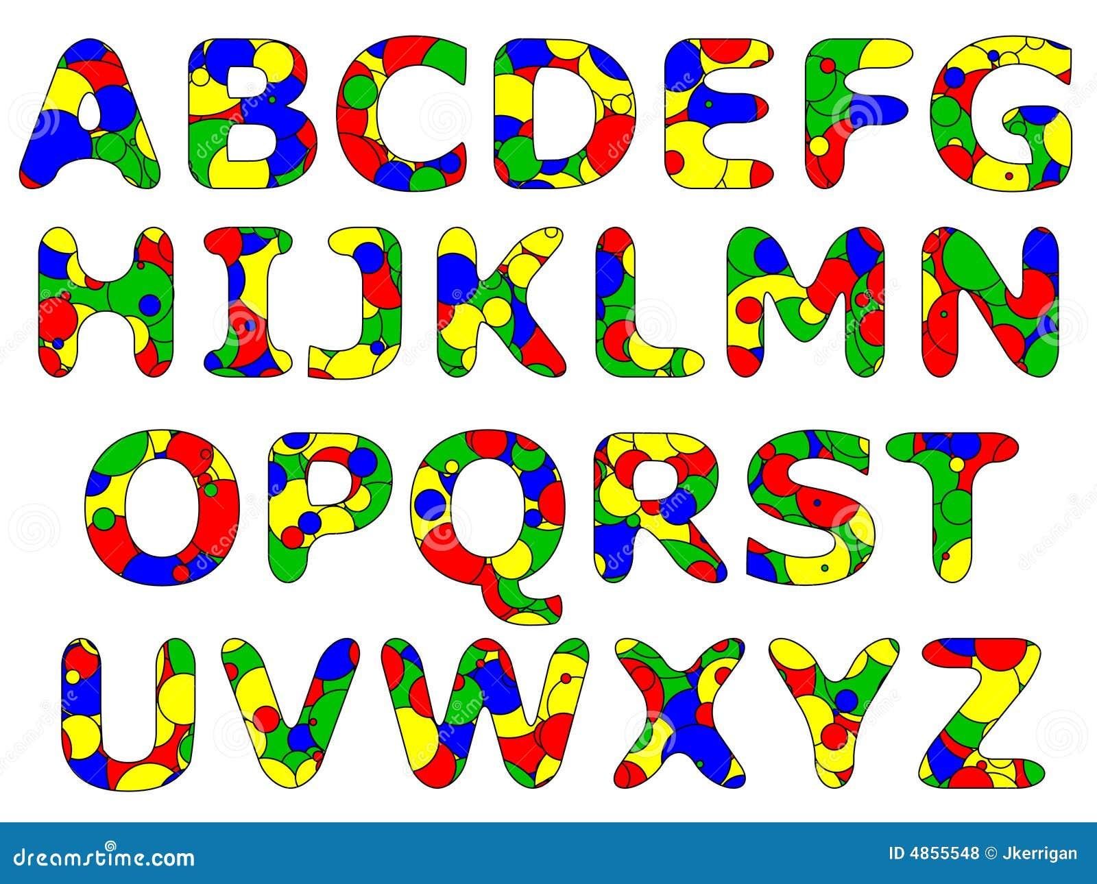Primary Alphabet Series Royalty Free Stock Photos Image 4855548