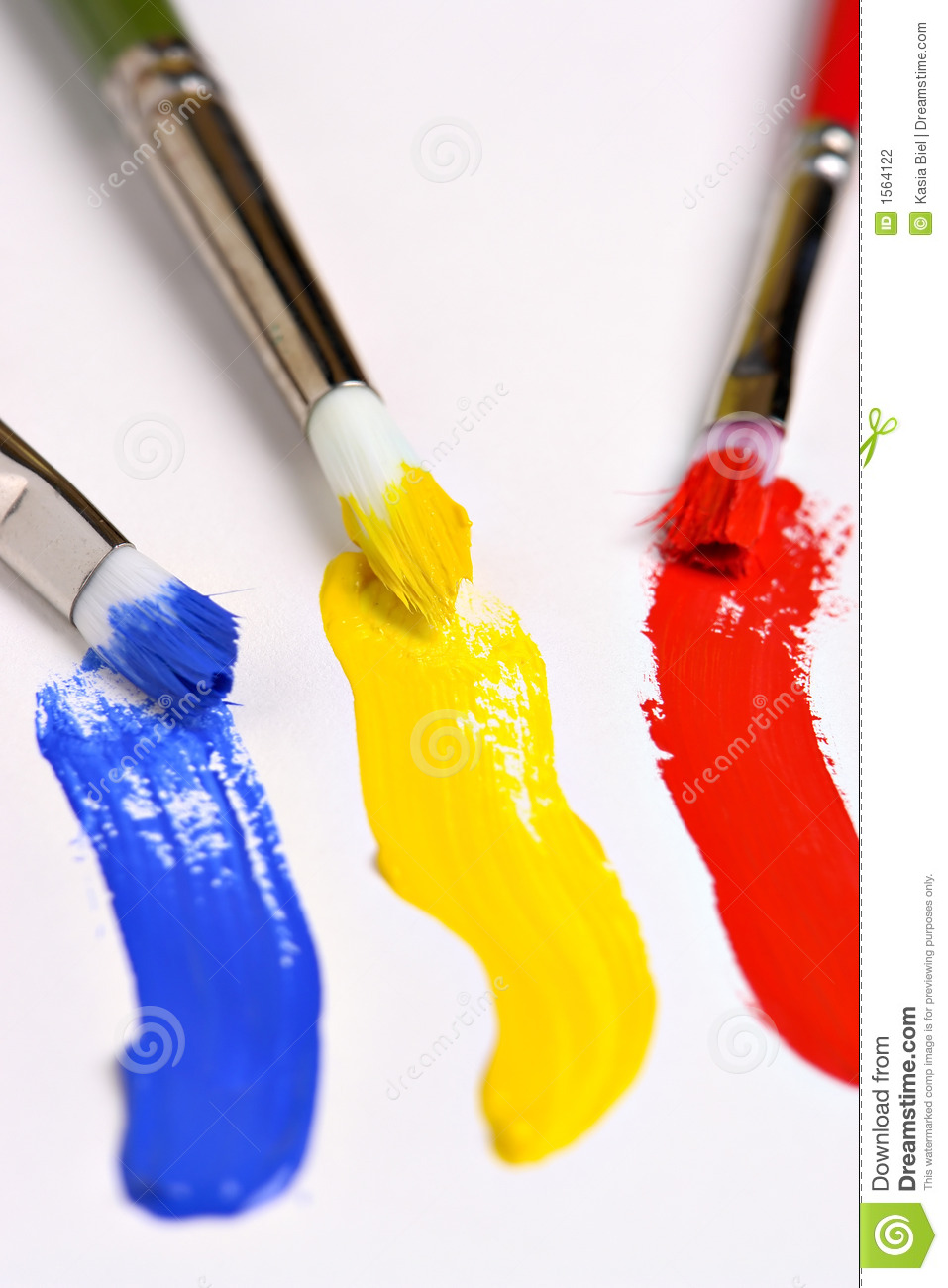 Primary Colors Stock Photo Image Of Artistic Acrylic