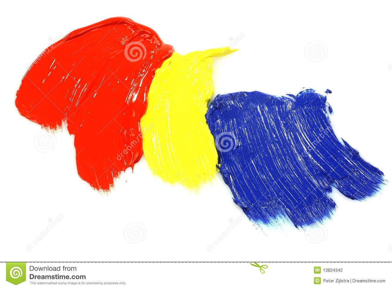 Primary Colors Acrylic Paint