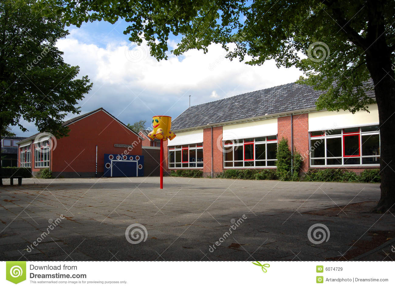 Primary School Building Royalty Free Stock Images - Image ...