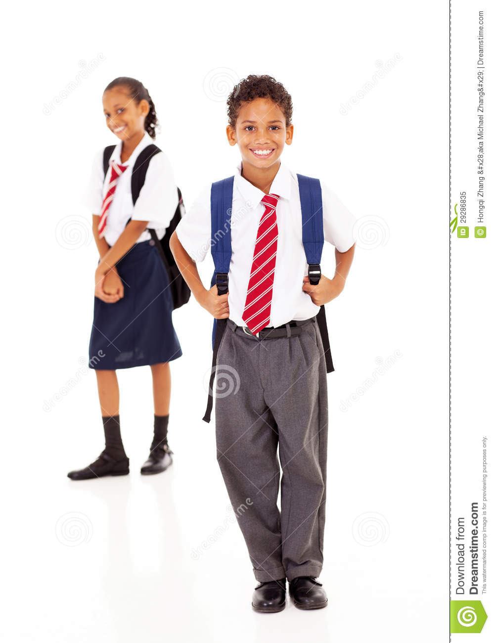 Primary School Students Stock Image Image Of Cute American 29286835