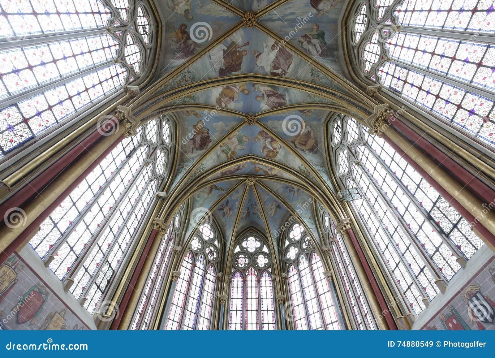 Primatice教堂, Chaalis修道院, Chaalis,法国
