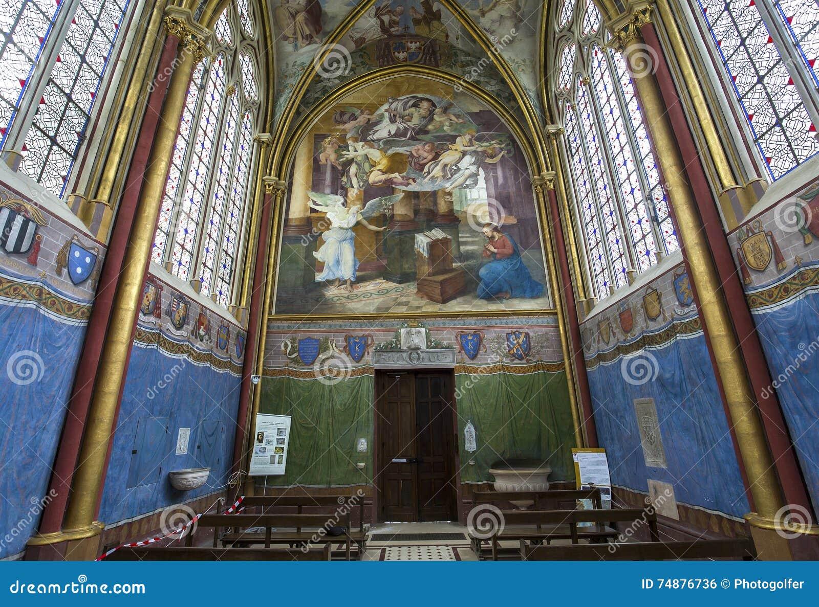 Primatice kapell, Chaalis abbotskloster, Chaalis, Frankrike