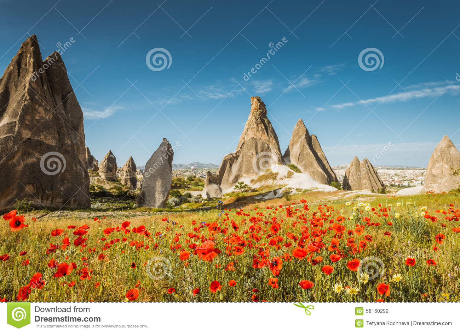 Primavera en Cappadocia, Turquía