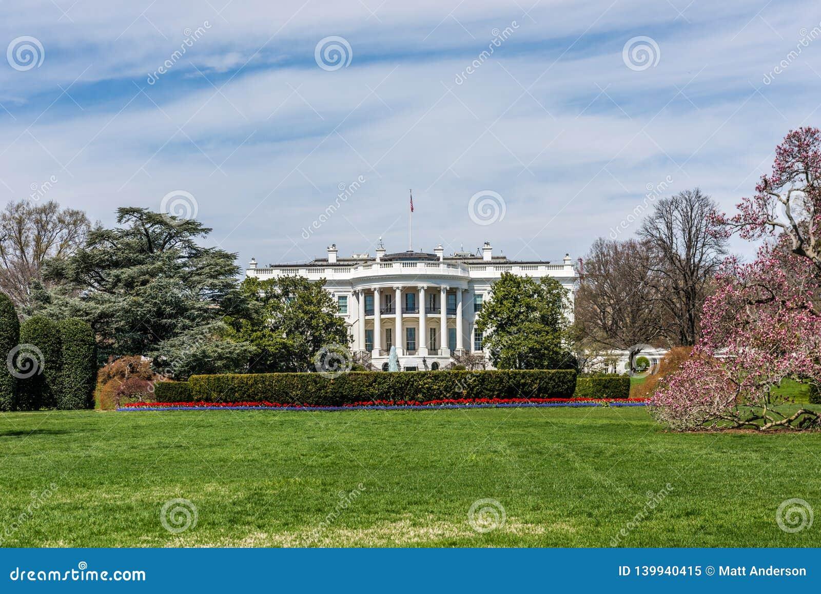 Primavera en la Casa Blanca