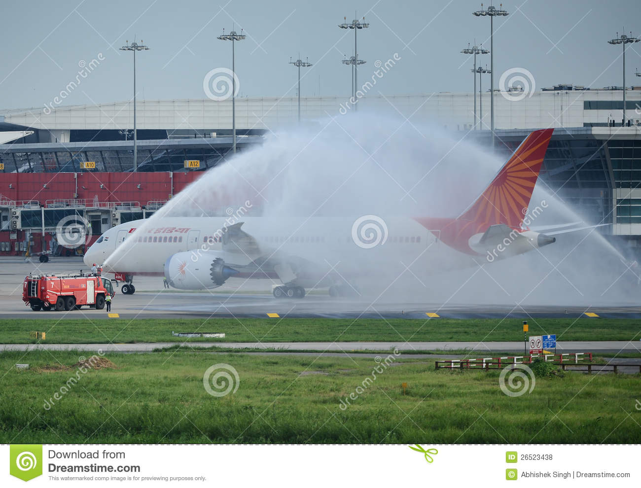 Primeira Air India Boeing 787