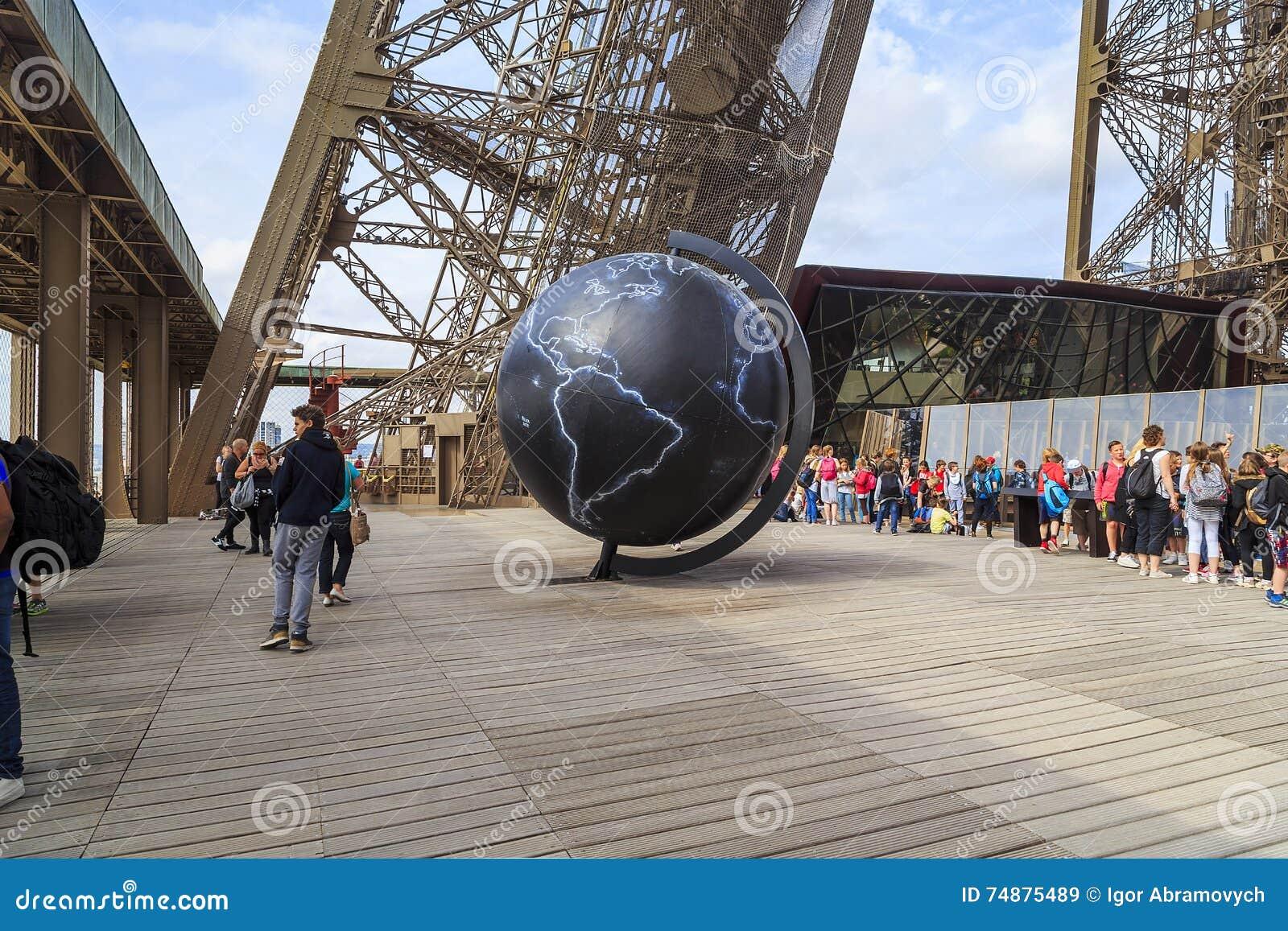 Primeiro andar da torre de Eifel