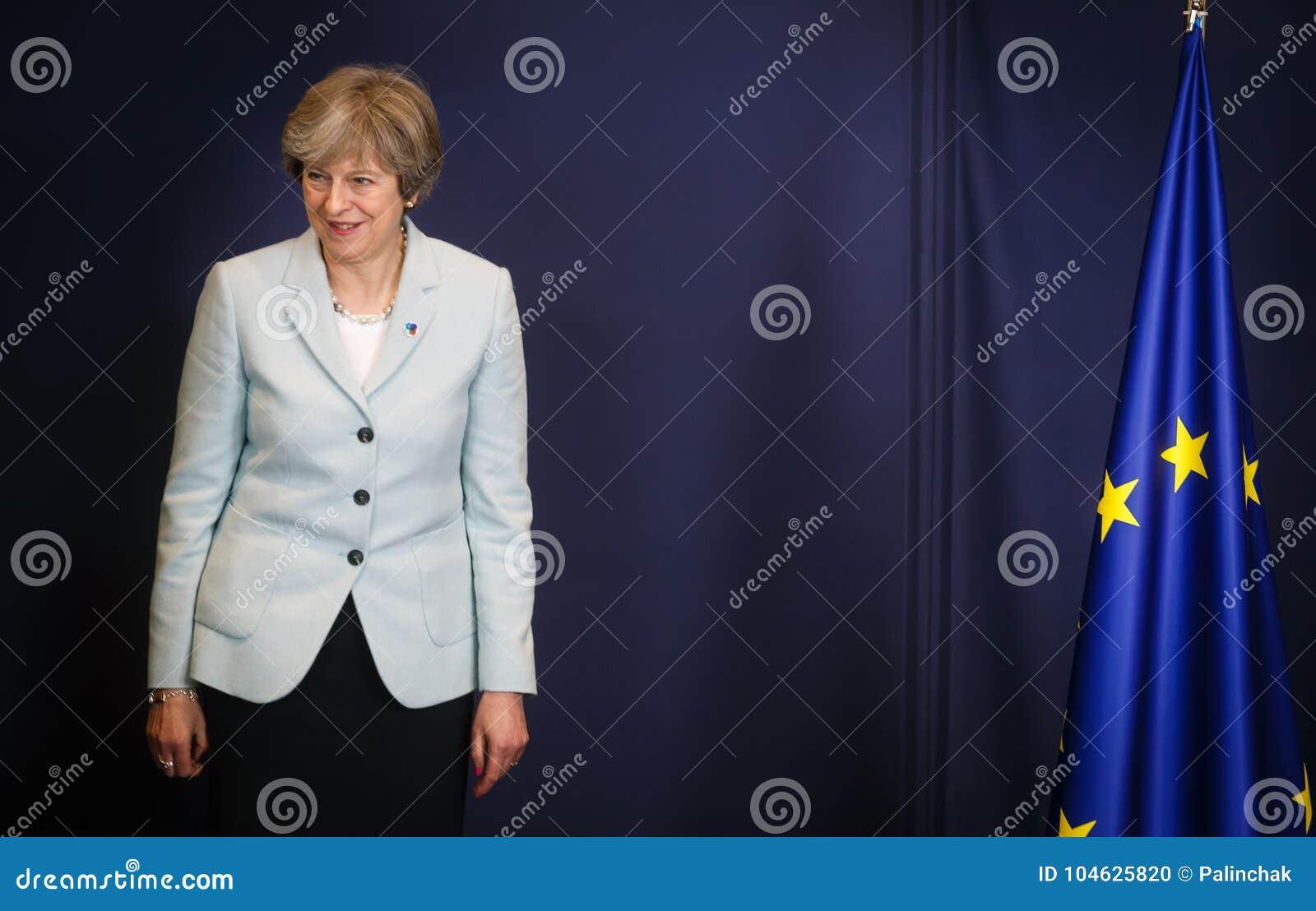 Primeiro ministro britânico Teresa May