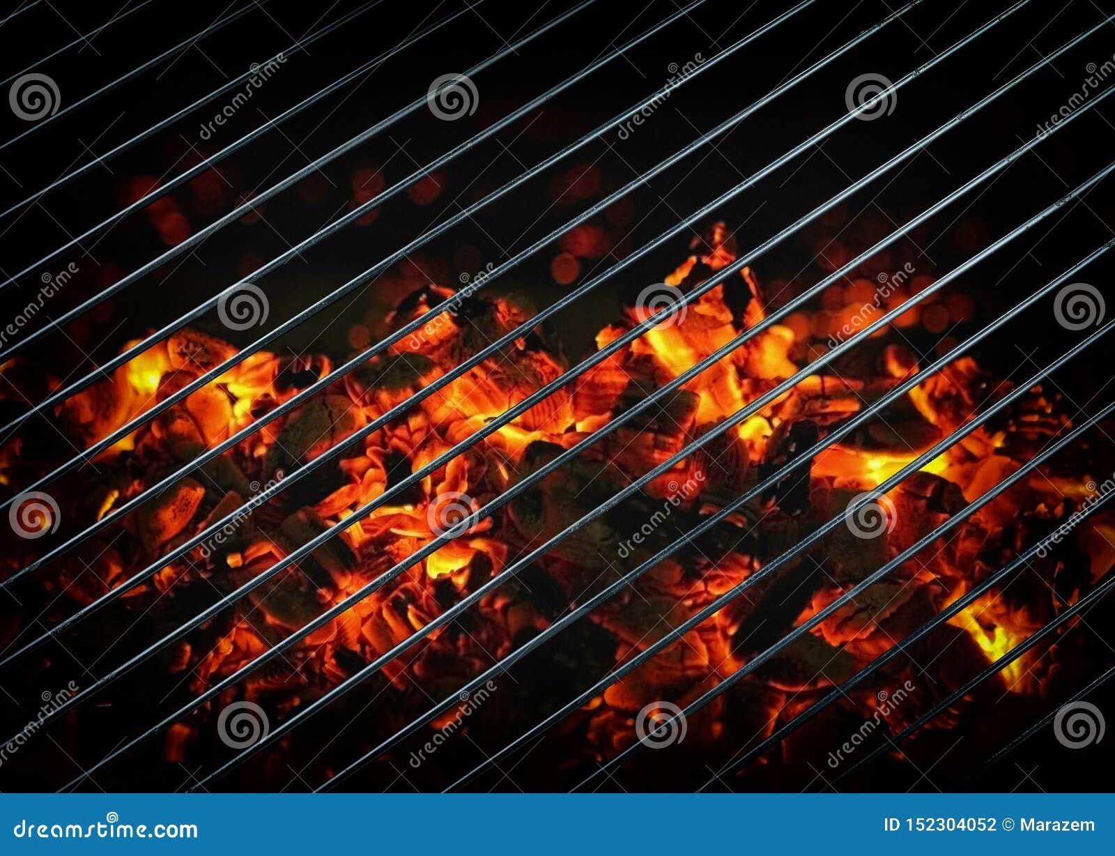 Primer de carbones ardientes