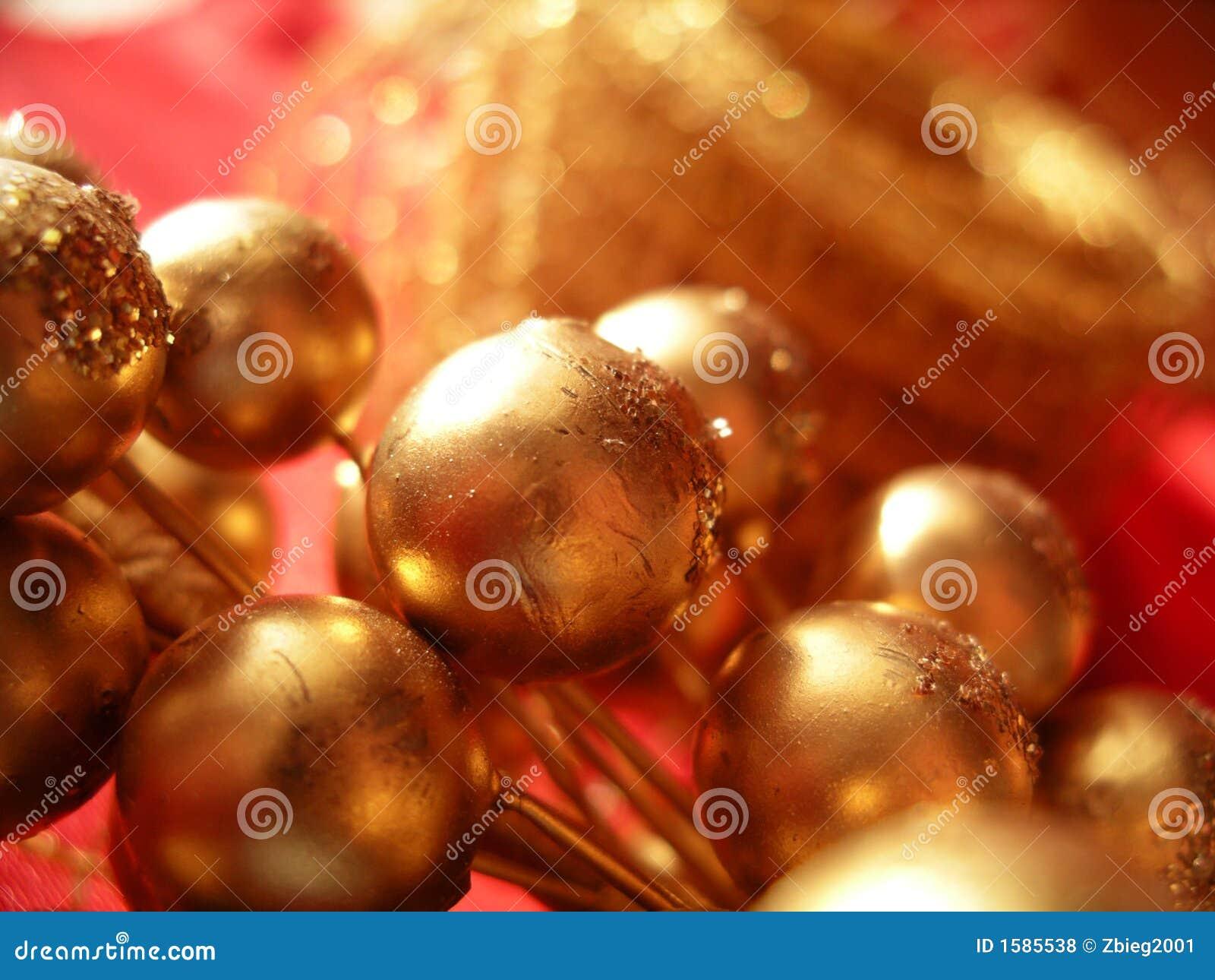 Primer de la decoración de la Navidad