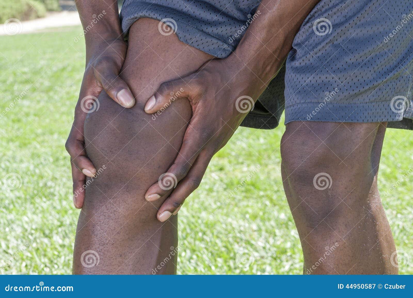 Primer de la lesión de rodilla