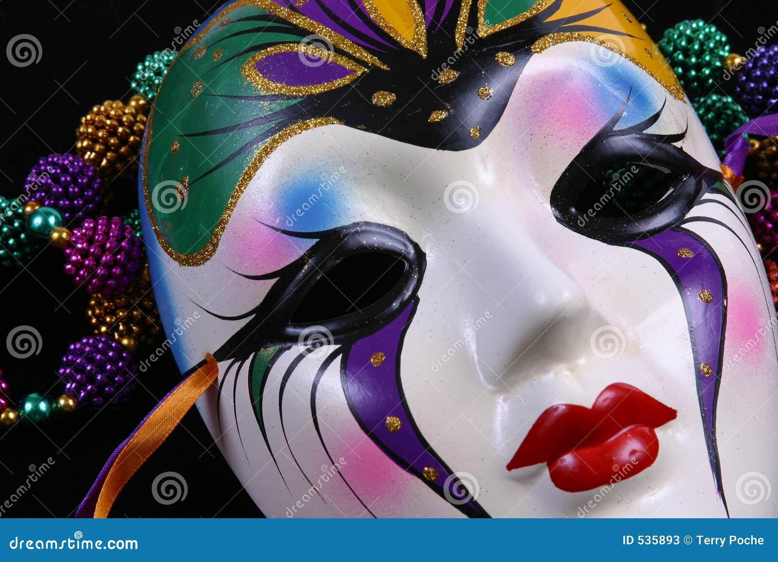 Las patas de ganso y las máscaras alrededor de los ojos