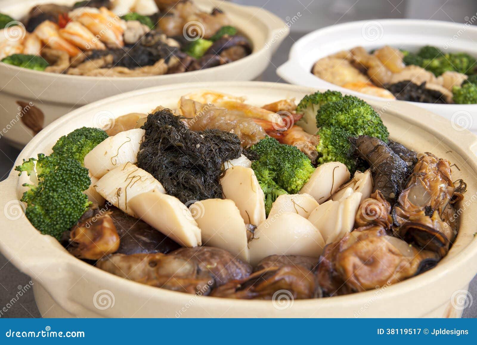 Primer de Poon Choi Cantonese Big Feast Bowls