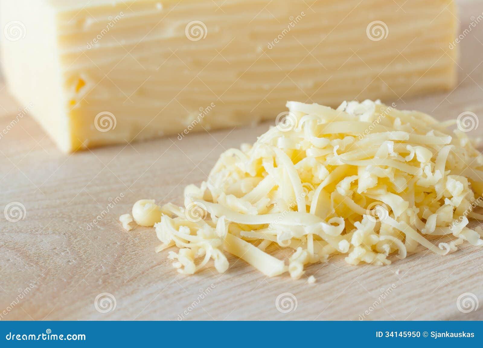 Primer del queso rallado