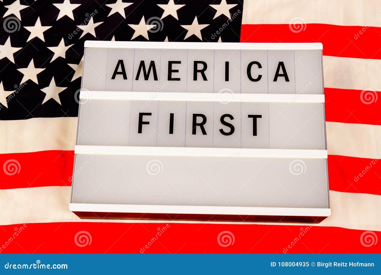 Primer lema de América