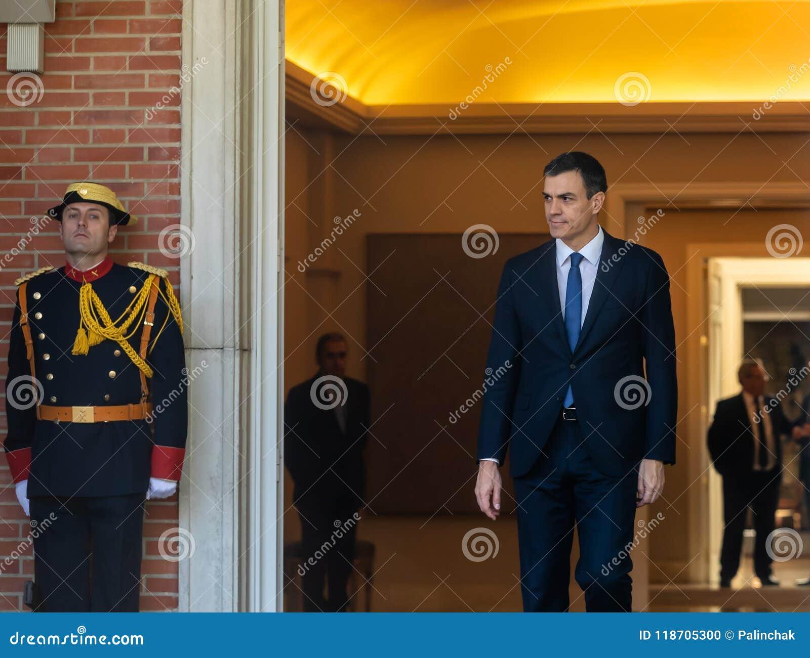 Primer ministro de España Pedro Sanchez