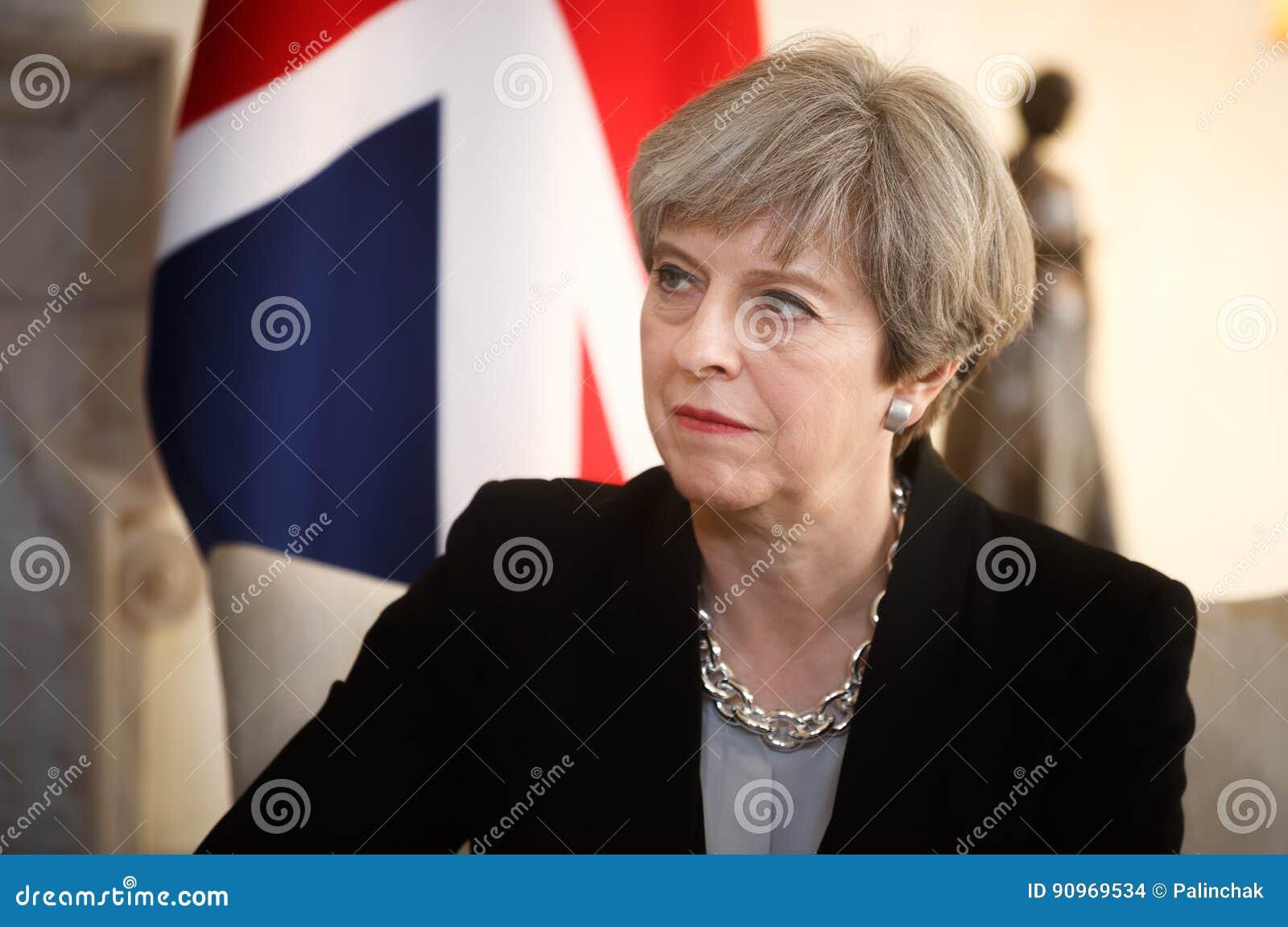 Primer ministro del Reino Unido Theresa May