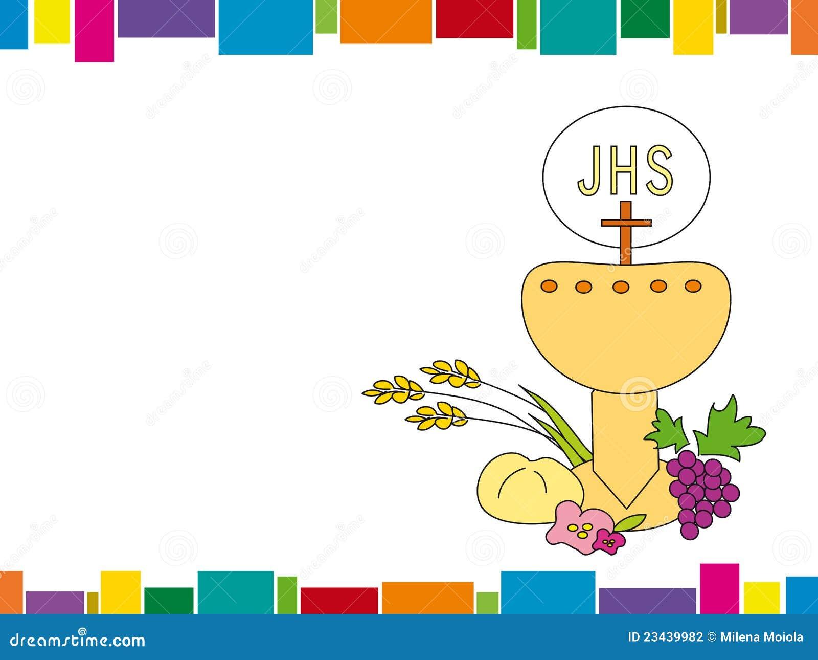 primera comunión stock de ilustración. ilustración de niño - 23439982