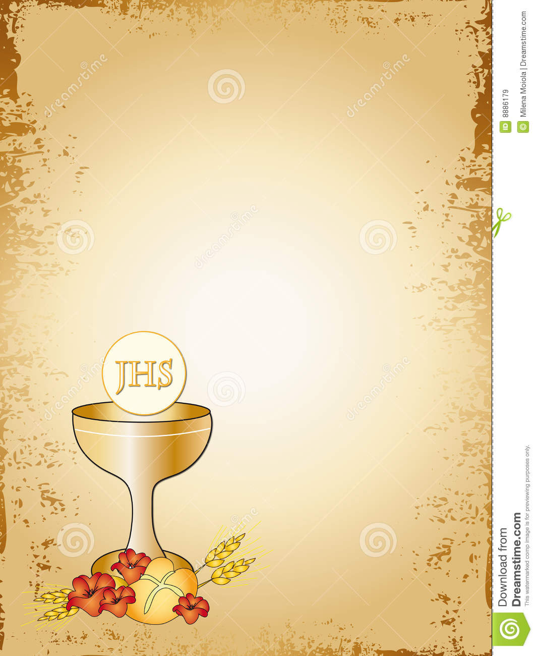 first holy communion clip art borders