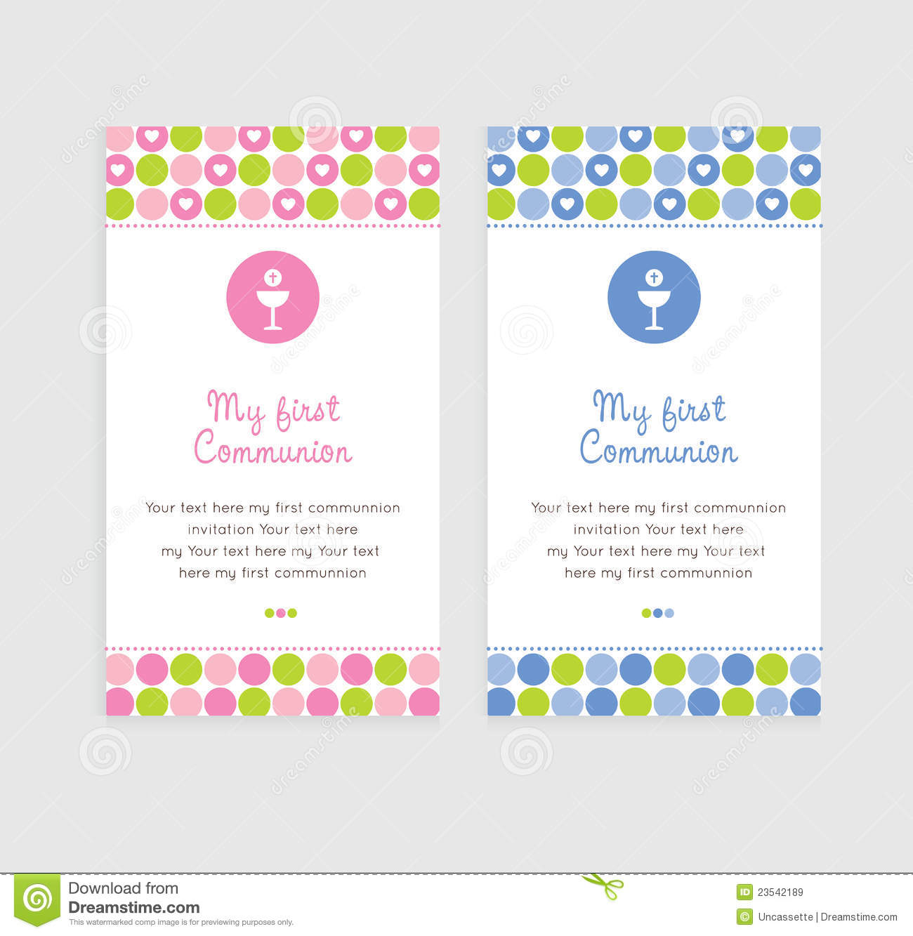 Free Printable First Holy Communion Cards