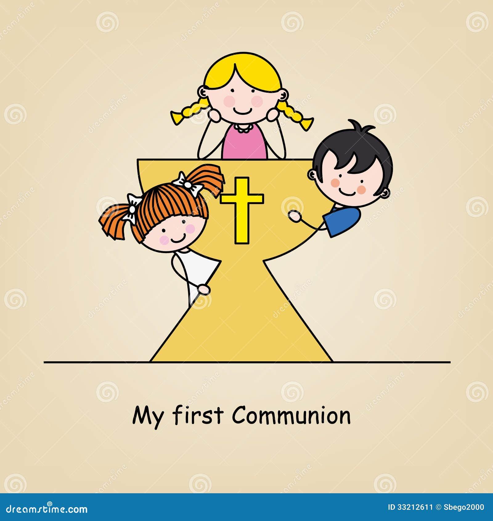 Primera tarjeta de la comunión