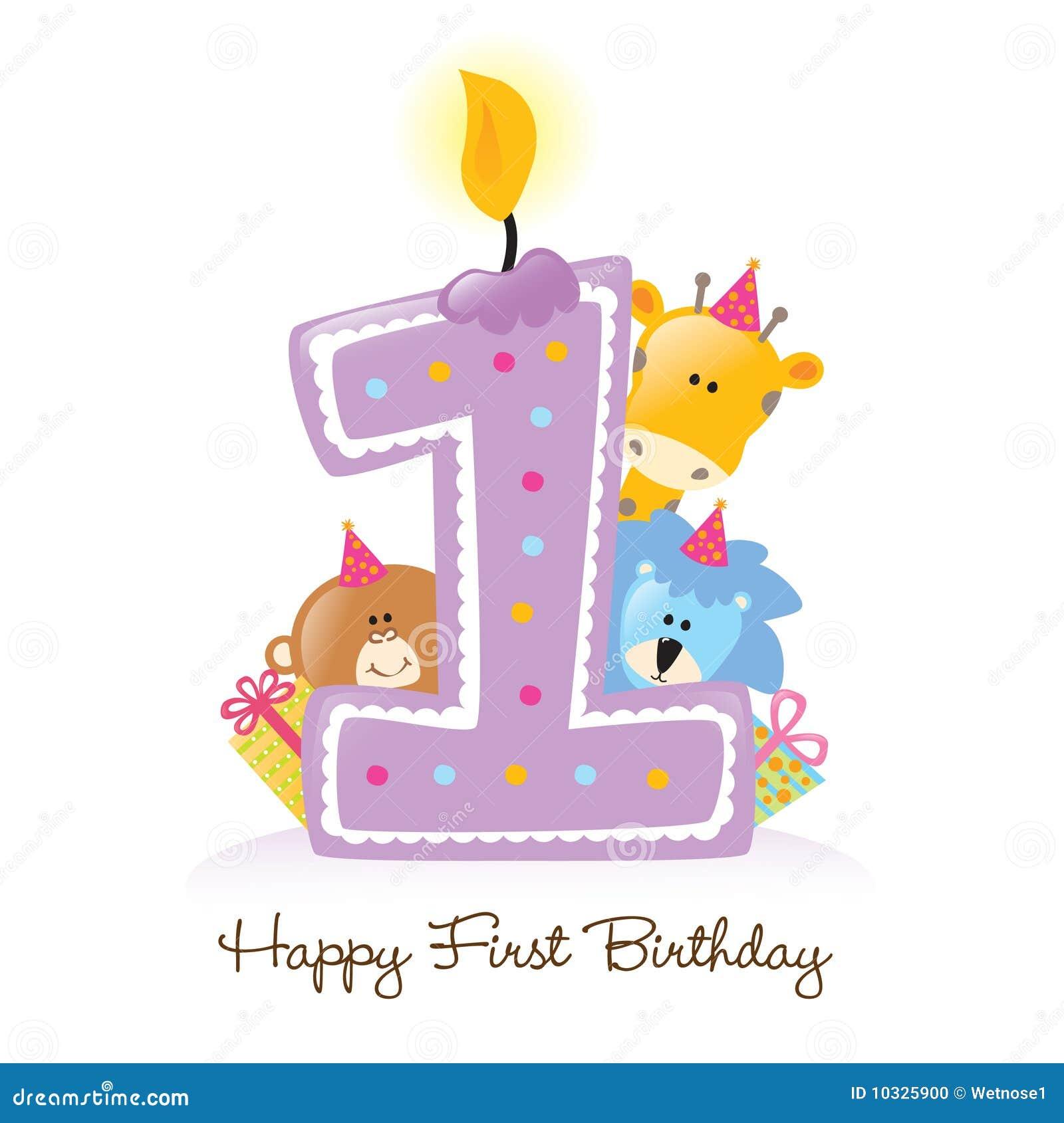 Primera vela del cumpleaños con los animales