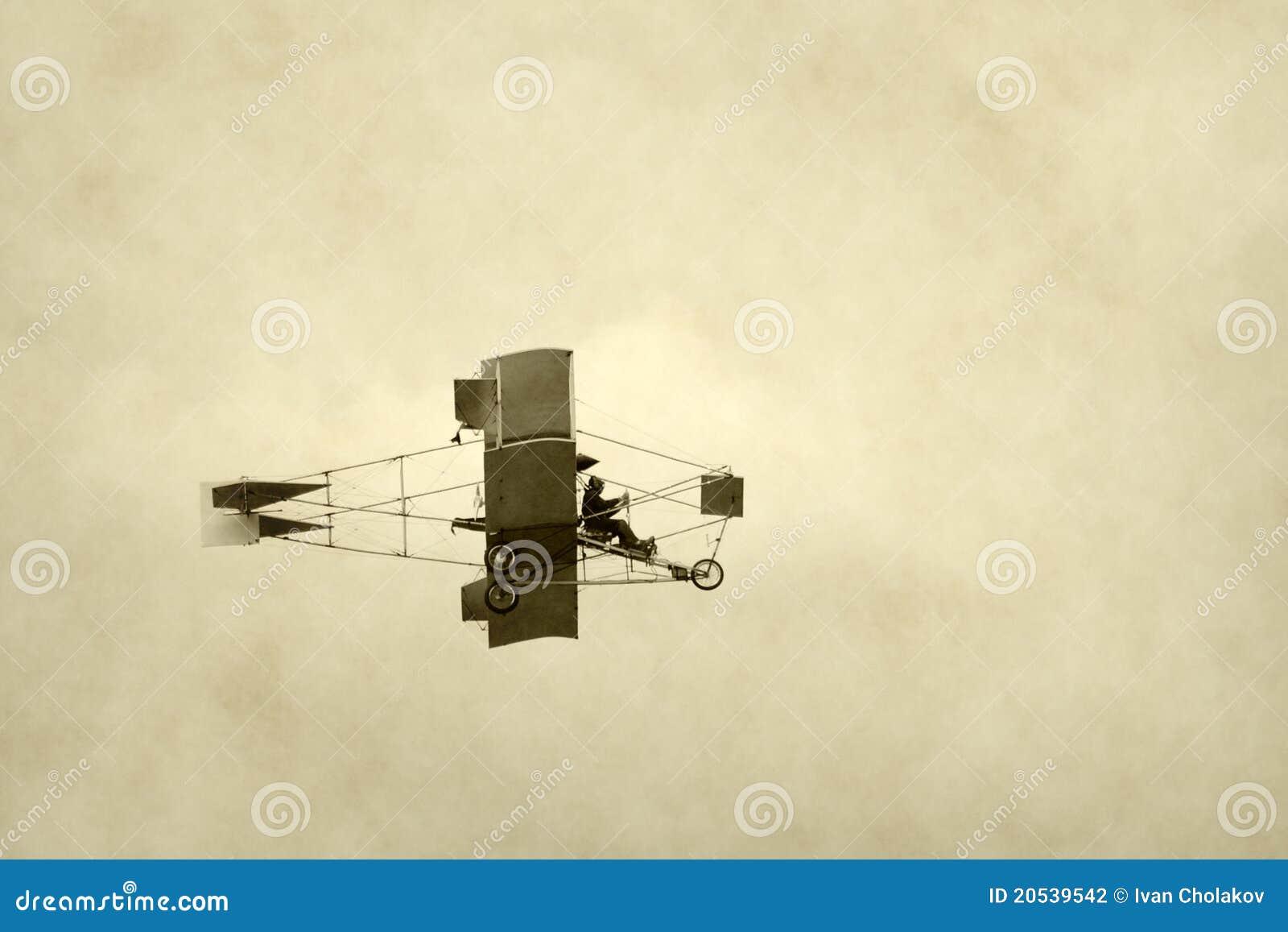 Primitive airplane