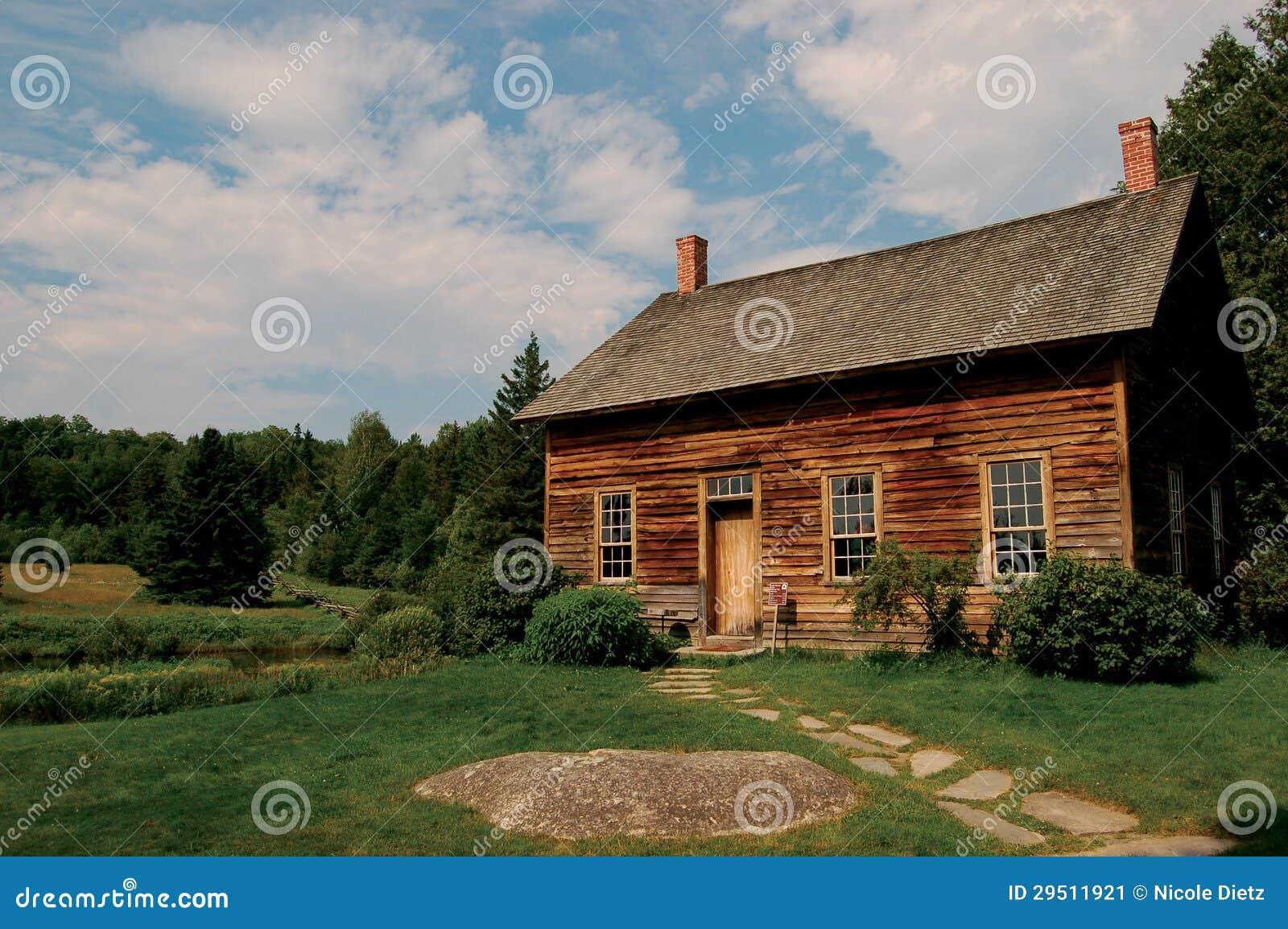 Primitive cabin stock image image 29511921 for Primitive cabin plans