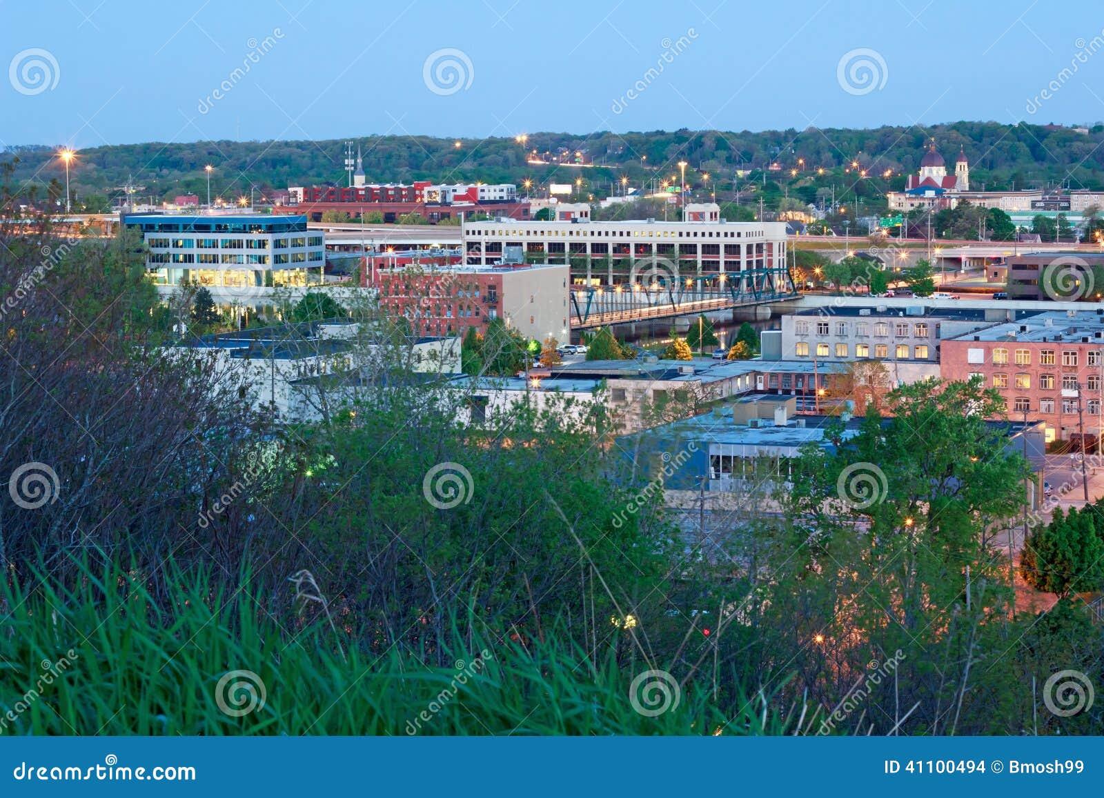 Primo mattino Grand Rapids Michigan