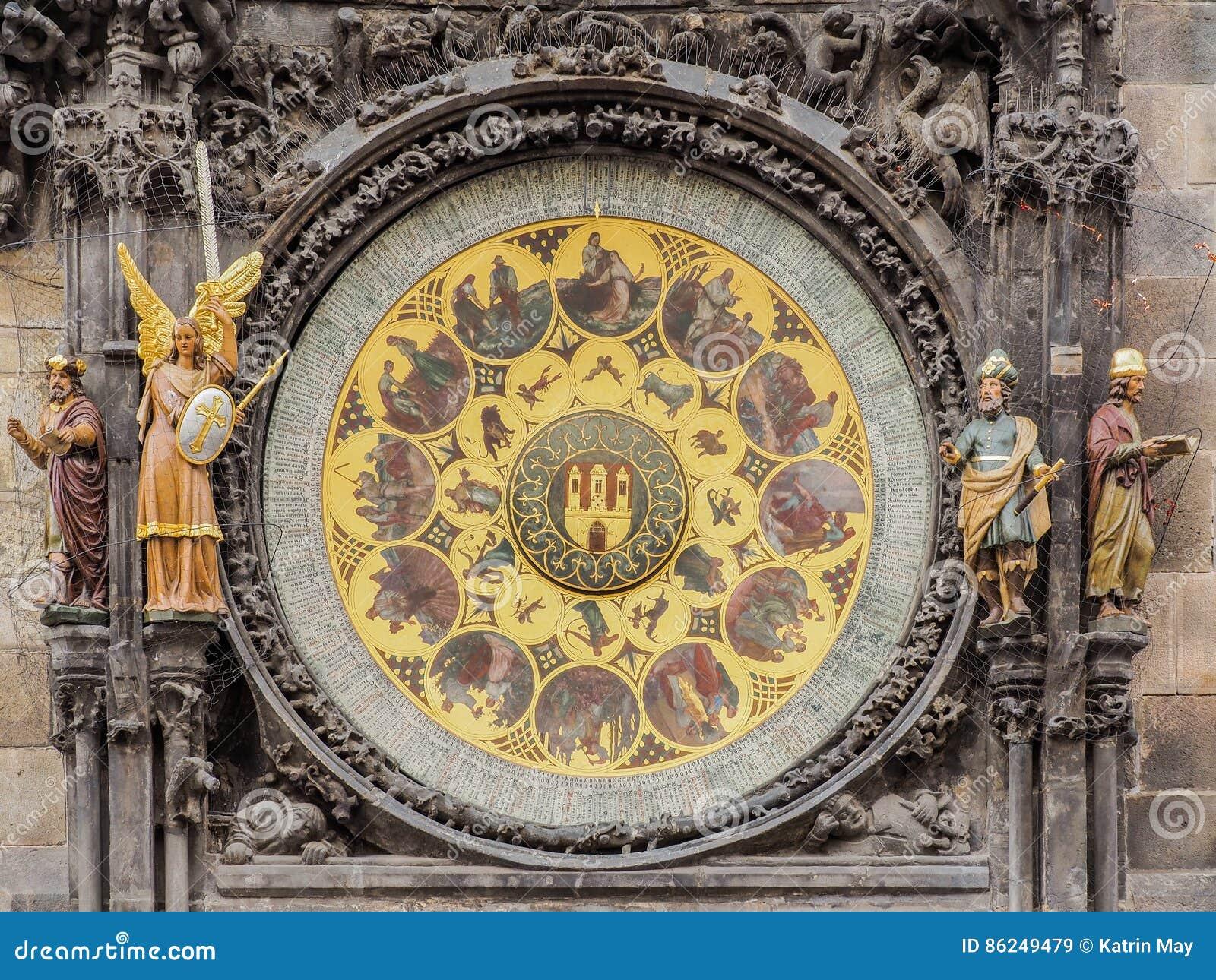 Calendario Repubblica.Primo Piano Del Calendario Dell Orologio Astronomico Al