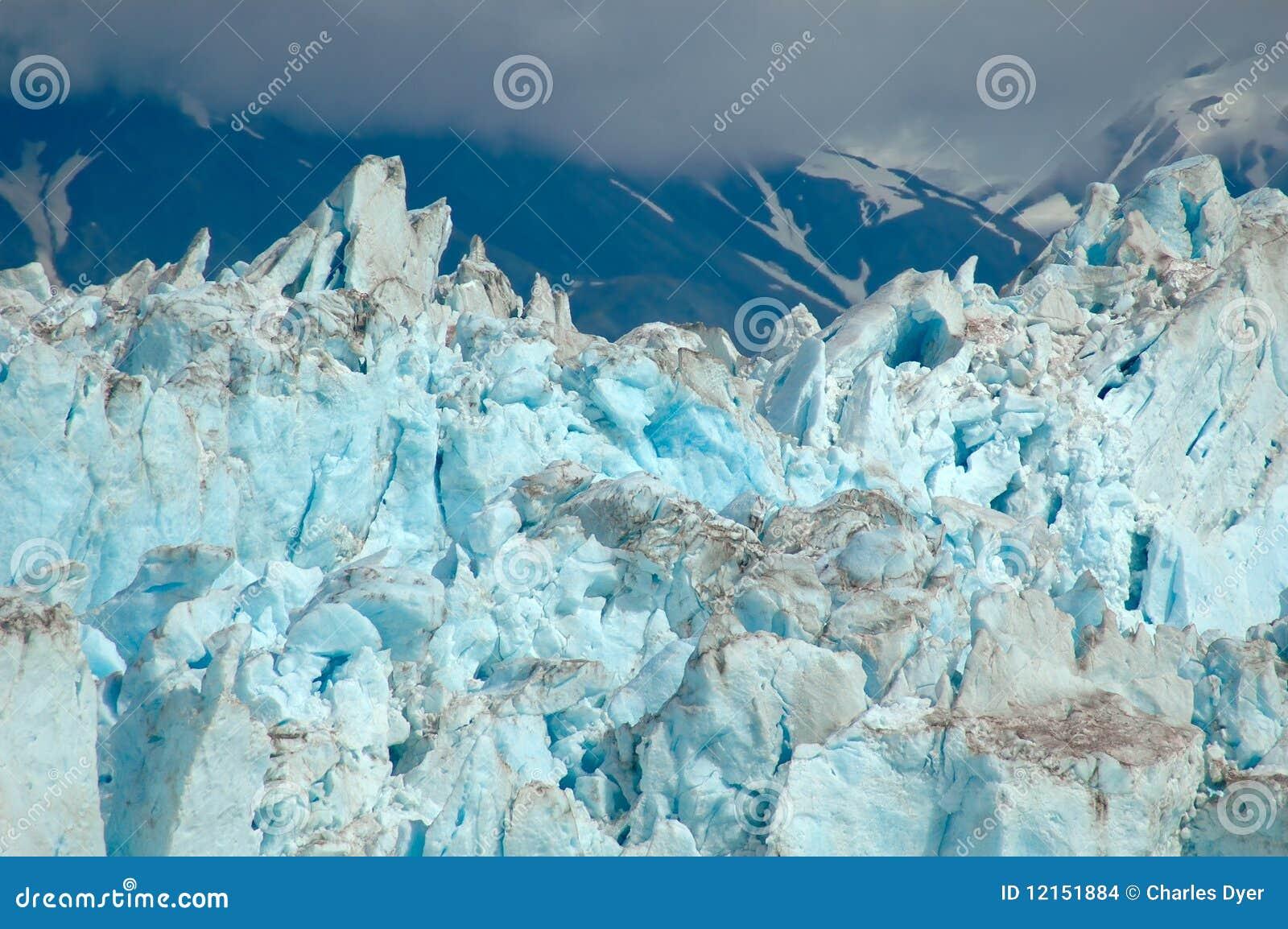 Primo piano del ghiacciaio fotografia stock immagine di for Disegni del mazzo del secondo piano