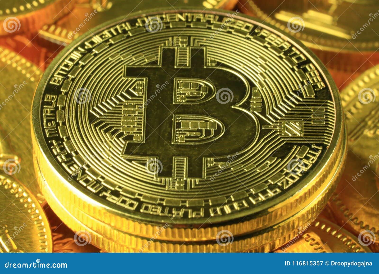 Primo piano del pagamento mondiale di Bitcoins