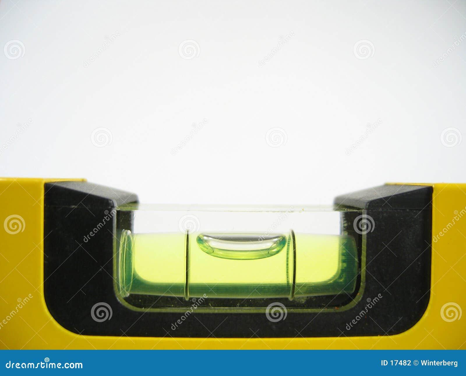 Primo piano del tubo di bolla