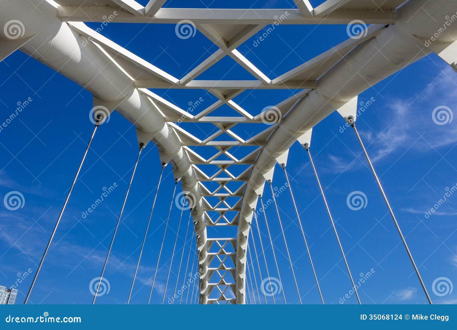 Primo piano dell 39 arco del ponte humber immagine stock for Ponte del secondo piano
