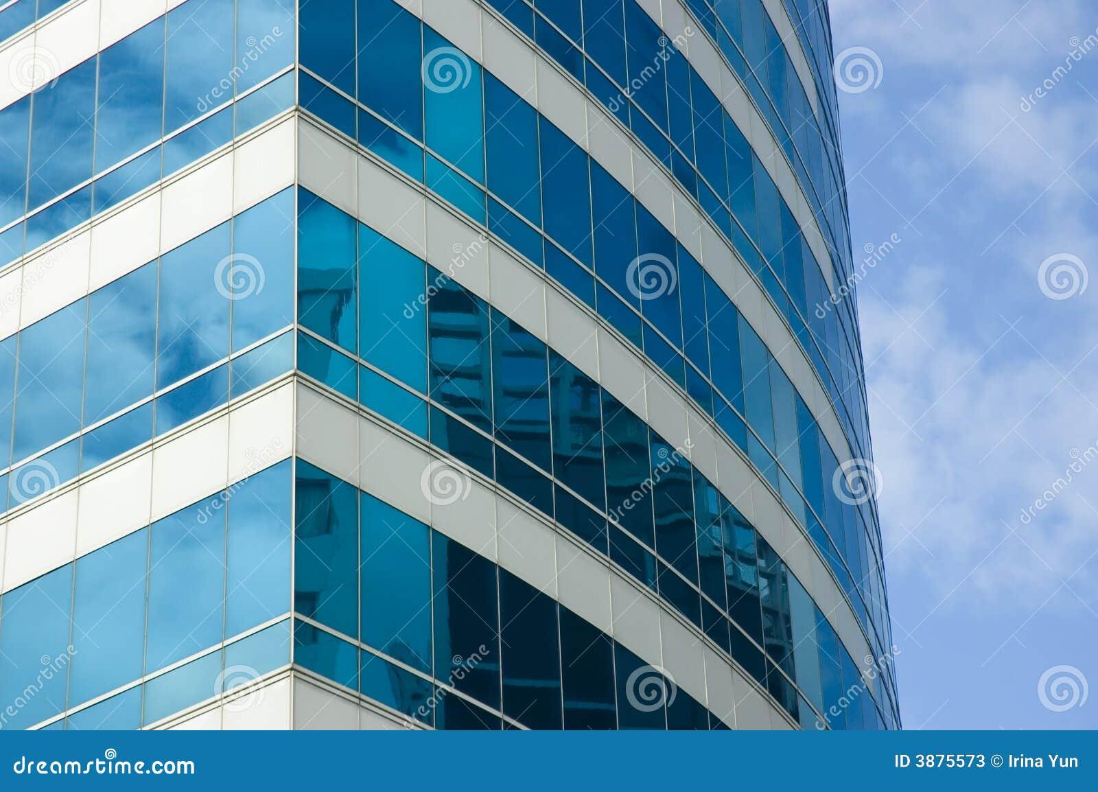 Primo piano dell edificio per uffici