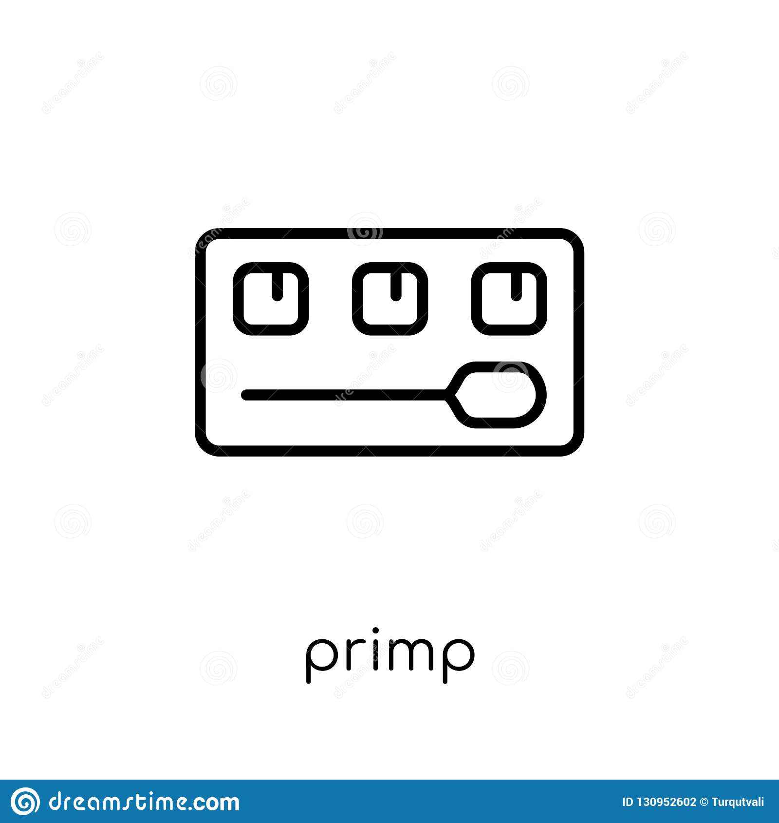 primp icon from Hygiene collection.