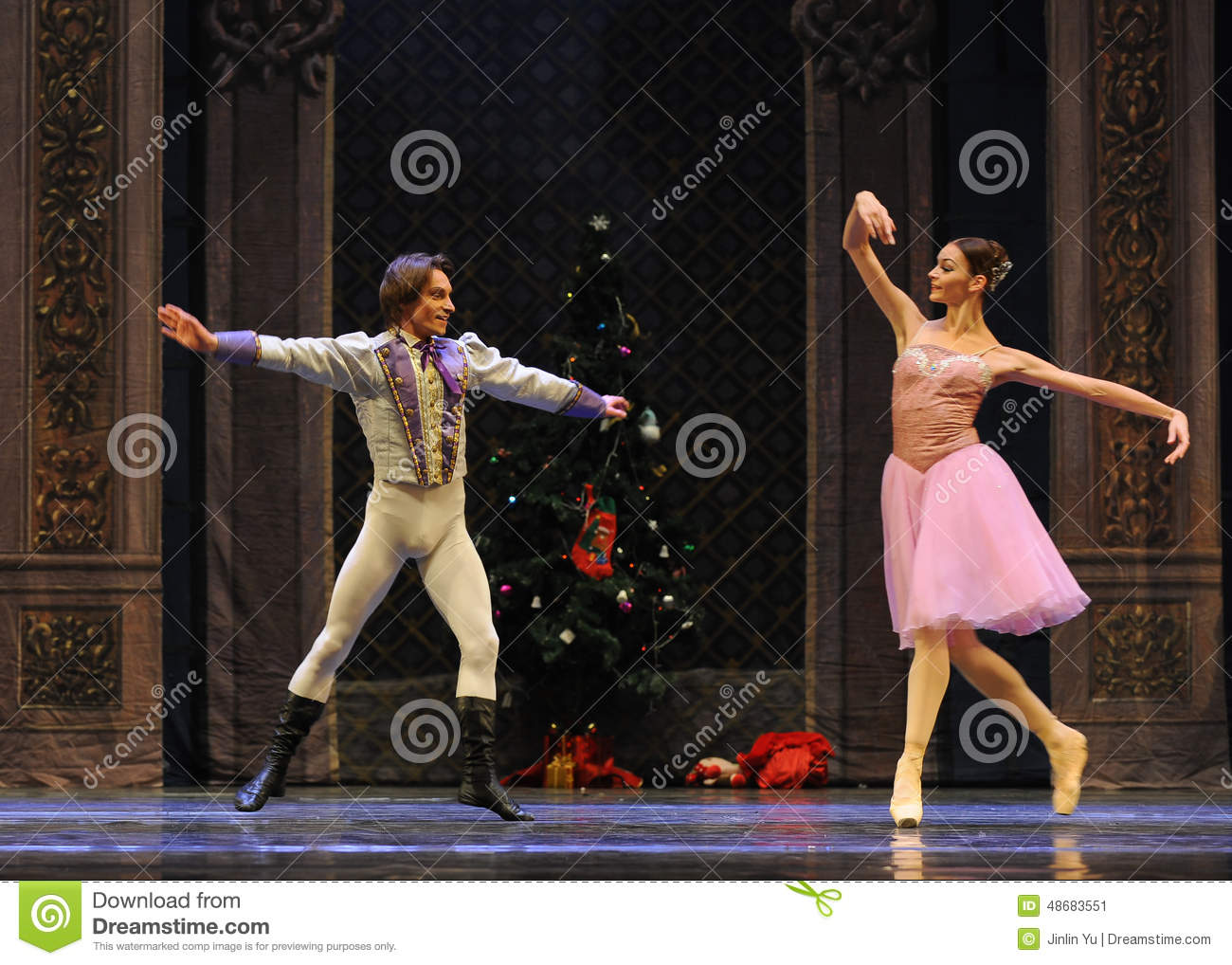 The Prince Is Infatuated With Clara-The Ballet Nutcracker