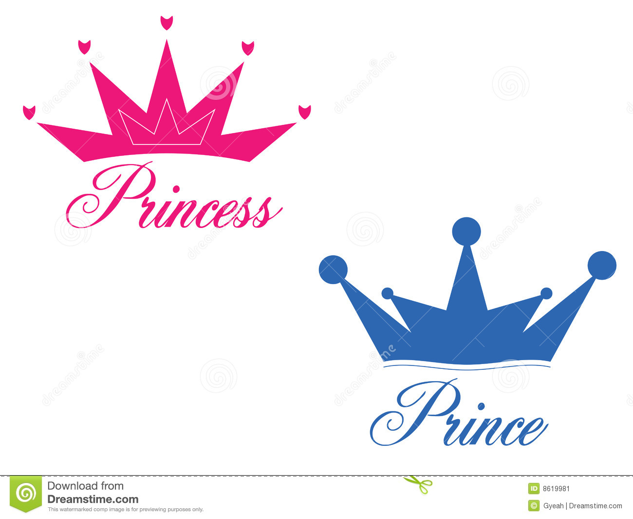 prince and princess stock image image 8619981 princess crown clipart craft princess crown clipart free