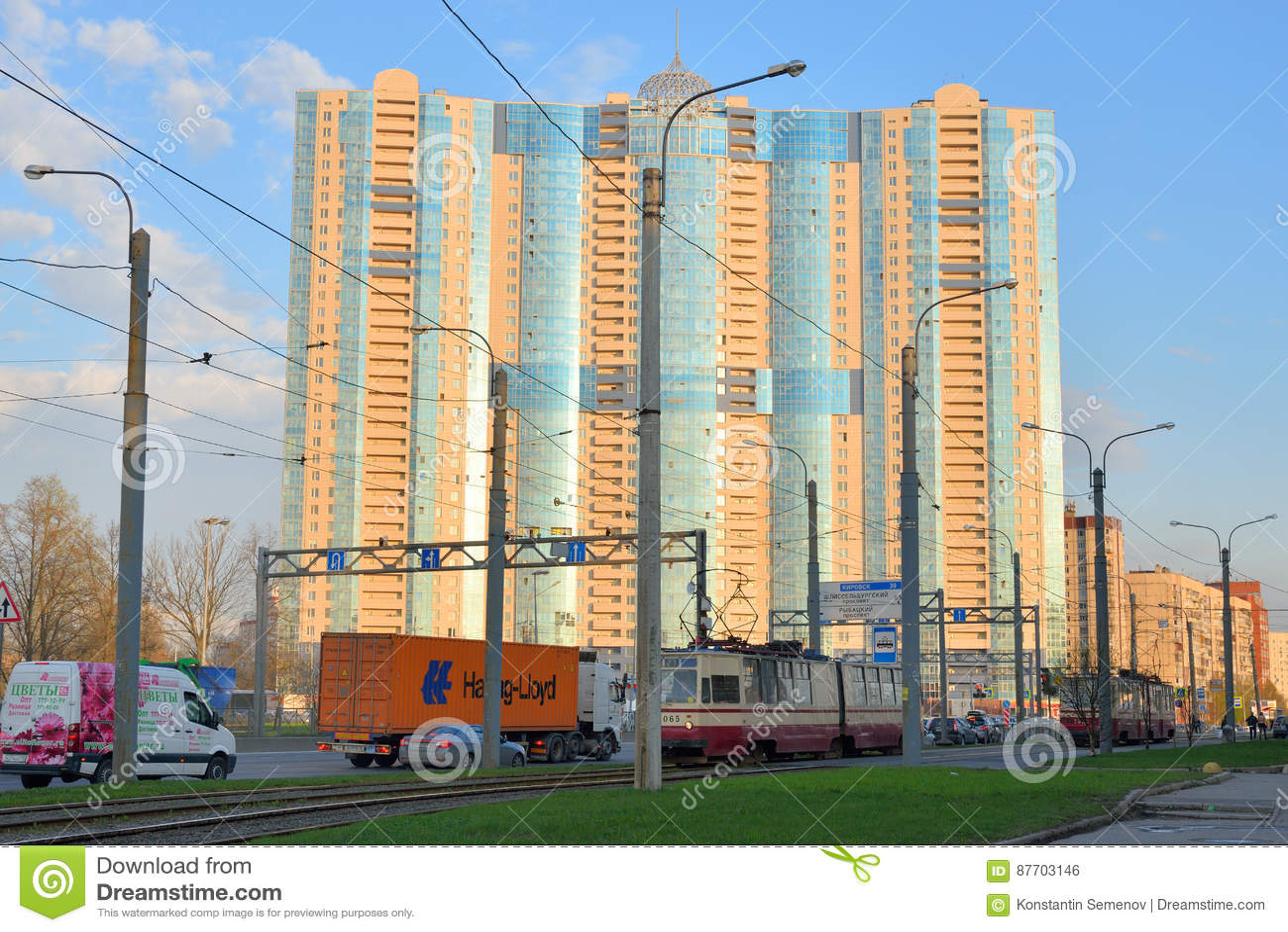 Prince résidentiel Alexander Nevsky de gratte-ciel